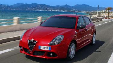 Alfa Romeo Giulietta&Mito Quadrifoglio verde细节确认