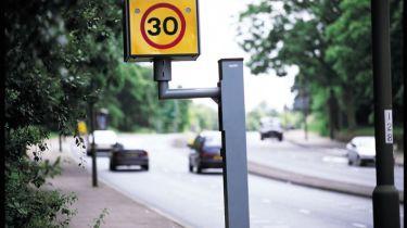 驾驶者抓住了超速可能面临10,000英镑的罚款