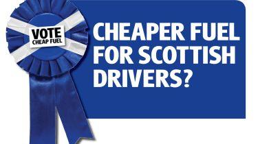 苏格兰独立:苏格兰的更便宜的燃料价格?