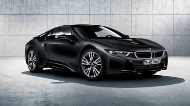 BMW I8获得质子冻结黑色和黄色特别版