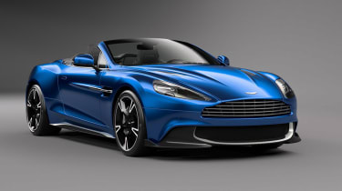 Aston Martin Vanquish S获得volante滴剂处理