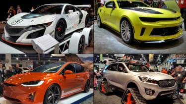 SEMA 2016:来自世界上最大的改装车展的新闻