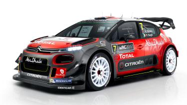 新雪铁龙C3 WRC在2017赛季提前亮相