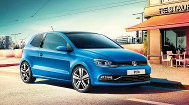 新增的增值VW Polo匹配版显示