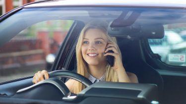使用手机捕获的司机数量