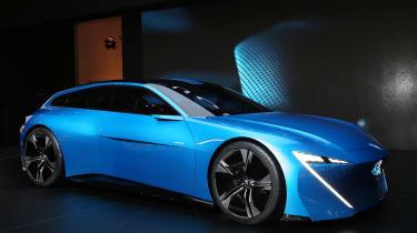 Peugeot Instinct Concept在日内瓦2017年揭示了新的造型方向