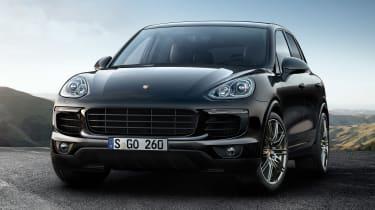 更多Up-Spec Porsche Cayenne Platinum Edition型号加入范围
