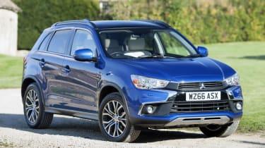 修改了MITSUBISHI ASX SUV在销售中从15,999英镑起