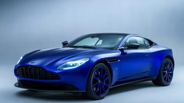 Aston Martin的DB11 Q显示了定制服务