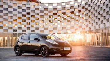 日产揭示了叶黑版和Micra Car分享计划