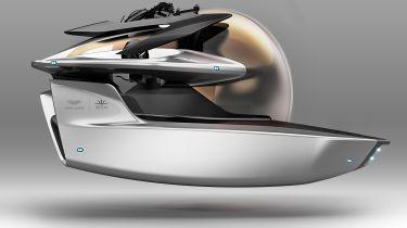 阿斯顿马丁推出项目海王星潜艇