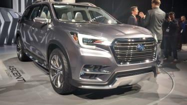 Subaru Ascent命名为品牌的七座美国SUV