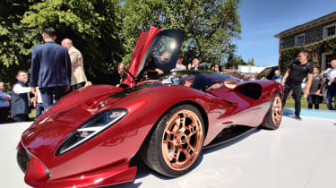 新德·托马索P72 GT庆祝品牌的60周年纪念日