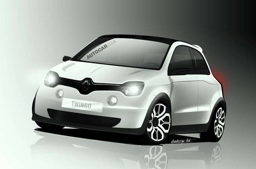 雷诺Twingo'Reinvents小车'