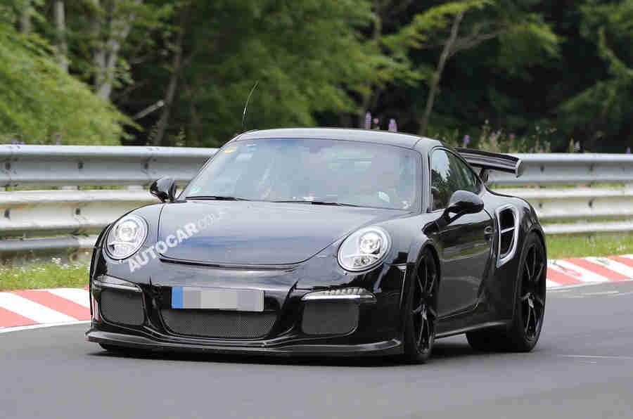 保时捷911 GT2涡轮 - 最新间谍镜头