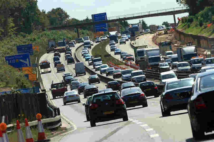 政府的道路和运输新资金的280亿英镑