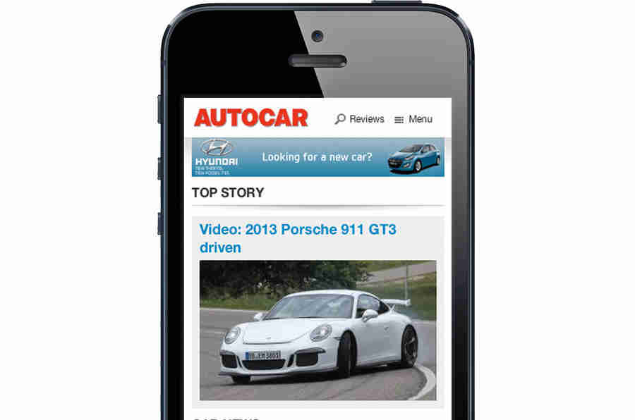 Autocar推出移动网站