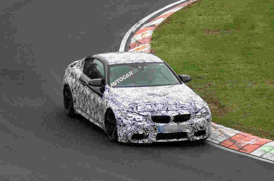 BMW M4经历纽伯格林测试