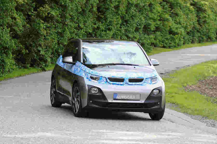 BMW I3在最终测试期间发现了