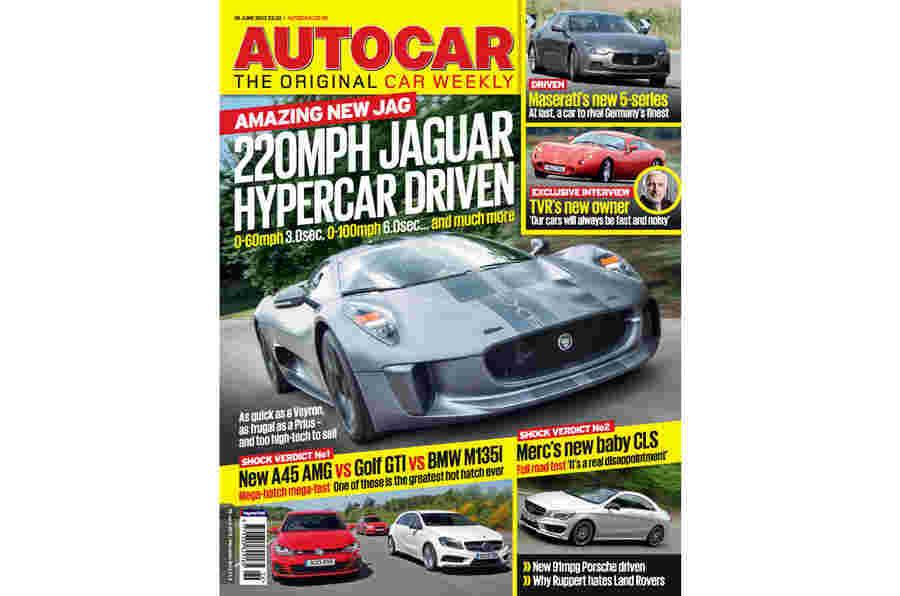 Autocar Magazine 26 June预览