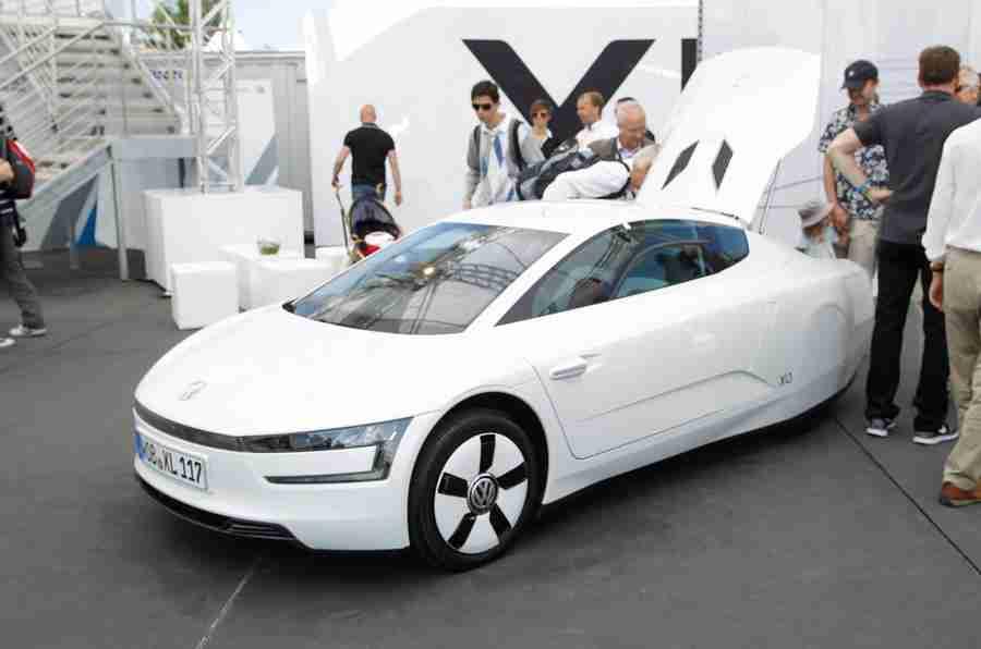 耶和华速度2013年:VW XL1
