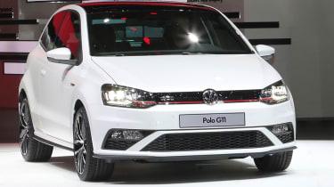 新的大众汽车Polo GTI比赛进入巴黎电机展