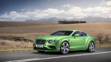 Bentley Continental GT和飞行刺激增益设计更新和电力