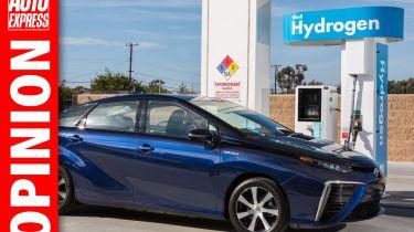 """""""对于今天的大多数驾驶者来说,氢气汽车是无关紧要的 - 可能总是"""""""