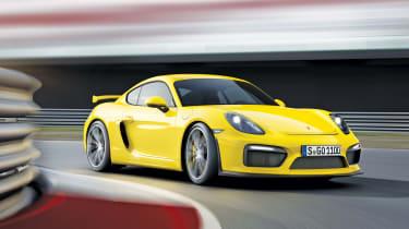 Porsche Cayman GT4:Geneva Show的赛道专注的轿跑车