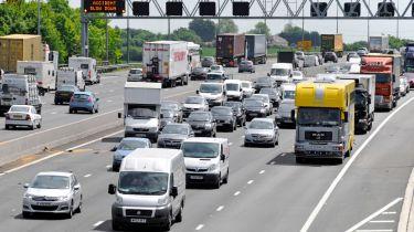 在2015年大选之后,英国道路升级中£15亿英镑