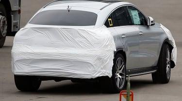 在最终测试阶段看到梅赛德斯GLE 63 AMG轿跑车