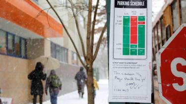 停车标志制造简单:新设计削减了混乱